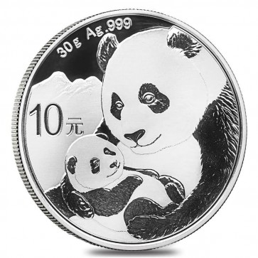30 gram Silver Chinese Panda Coin 2019