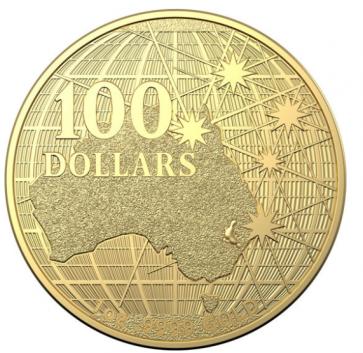 1 oz Gold Australia Beneath the Southern Skies - Platypus Coin 2021
