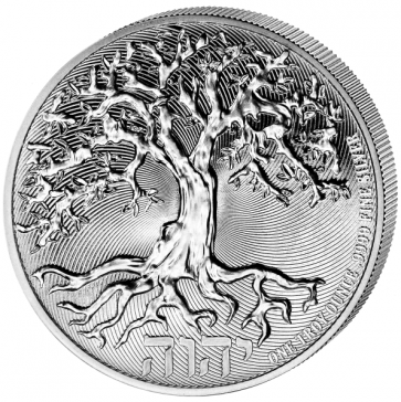 1 oz Silver Tree of Life Coin 2021