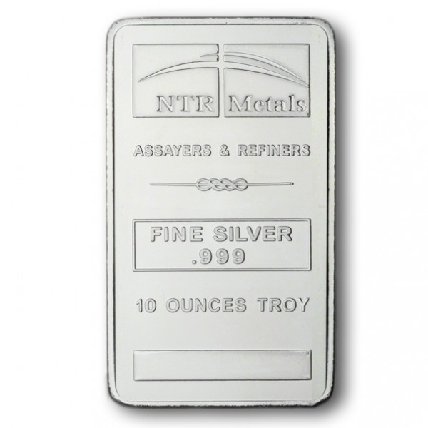 10 Oz Silver Ntr Bar