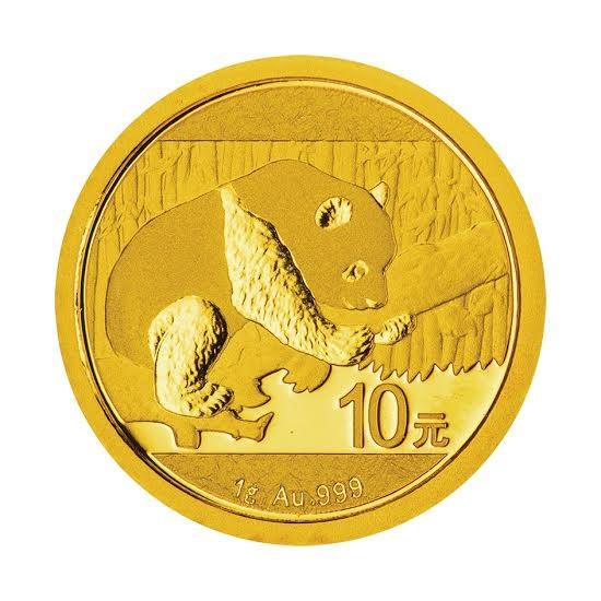 1 Gram Gold Panda Coin 2016
