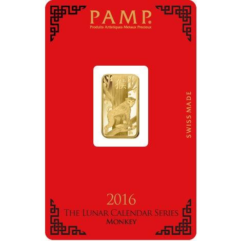 5 Gram Gold Pamp Suisse Monkey Bar Online