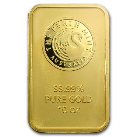 Order Online 10 Oz Gold Perth Mint Bar Toronto Gold Bullion