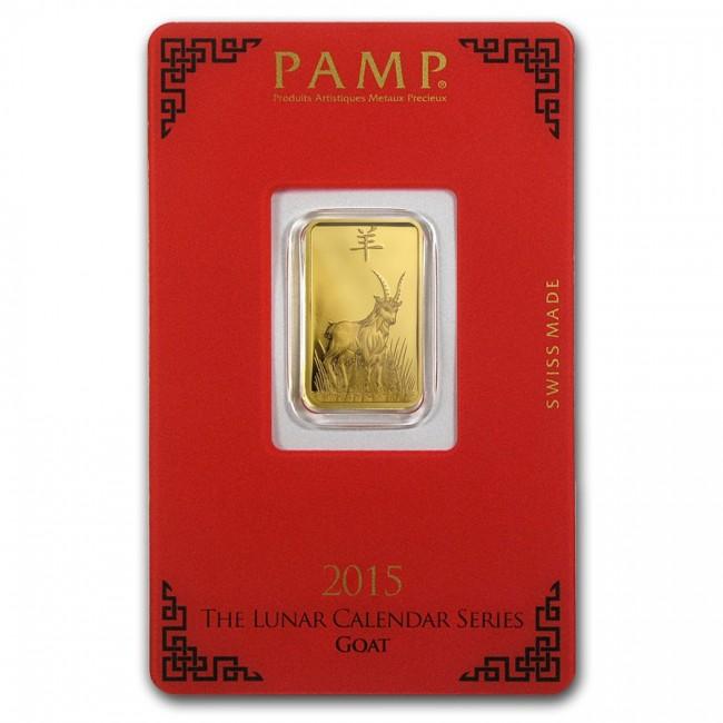 Order 5 Gram Gold Pamp Suisse Goat Bar Online