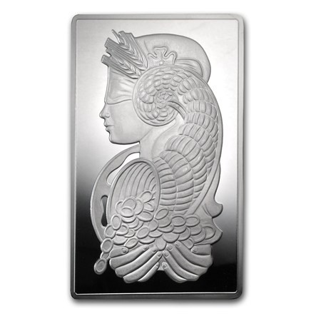 10 Oz Silver Pamp Fortuna Bar