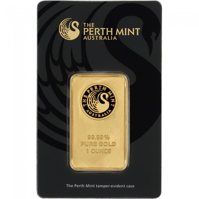 1 Oz Gold Perth Mint Bar Buy Online The Bullion People