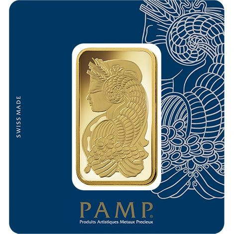 100 Gram Gold Pamp Suisse Fortuna Veriscan Bar Buy Online