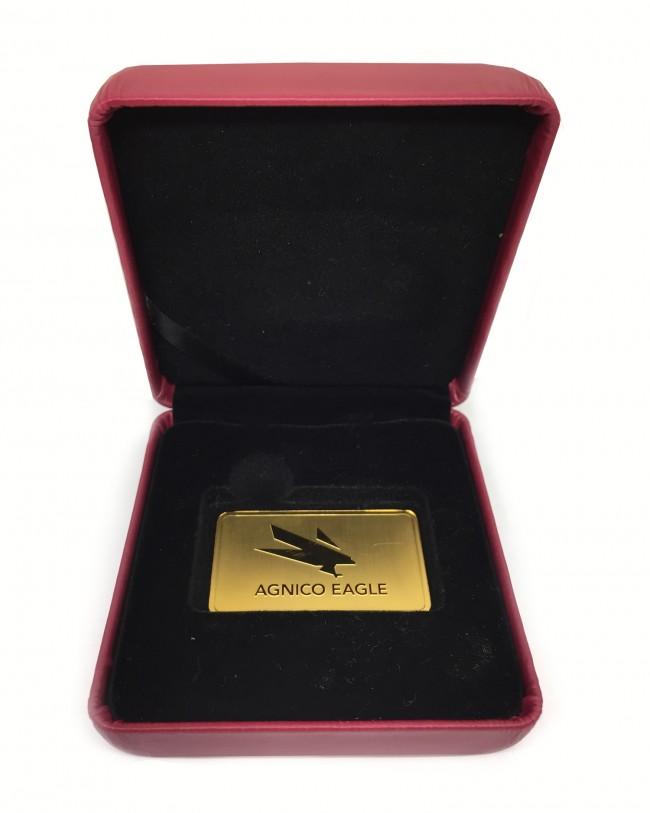 1 Oz Gold Royal Canadian Mint Agnico Eagle Bar