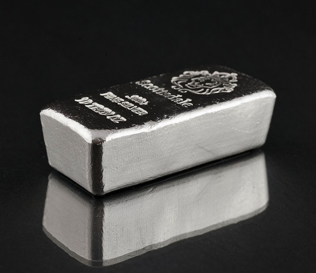10 Oz Silver Scottsdale Quot Chunky Quot Poured Bar