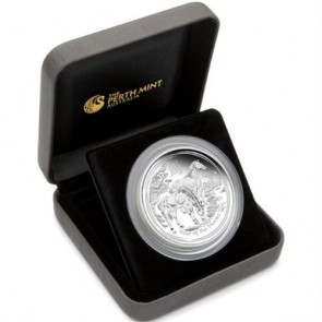 Silver Australian Lunar Horse 5 oz proof Coin 2014