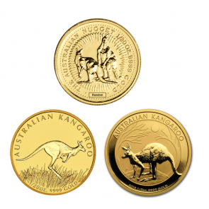 1/20 oz Gold Perth Mint Kangaroo Coin
