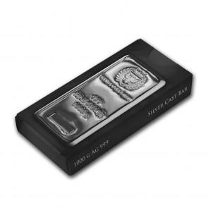 1 Kilo Silver Germania Mint Bar
