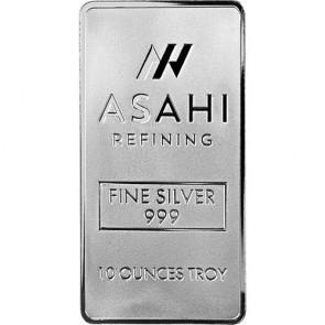 10 oz Asahi Silver Bars
