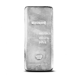 1 Kilo Silver Metalor Bar