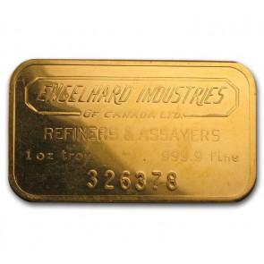 100 gram Gold Engelhard Bar
