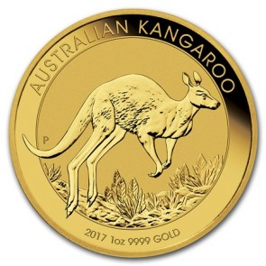 1 oz Gold Perth Mint Kangaroo Coin 2017