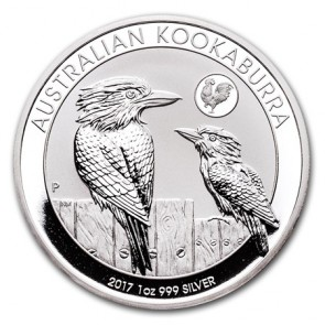 1 oz Silver Perth Mint Kookaburra Rooster Privy Coin 2017