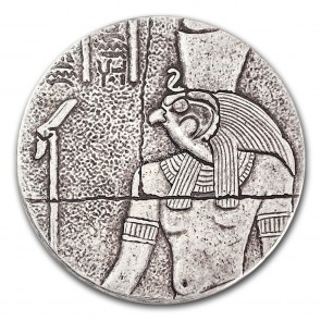 2 oz Silver Egyptian Relic Series - Horus Coin