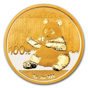 8 gram Gold Chinese Panda Coin 2017