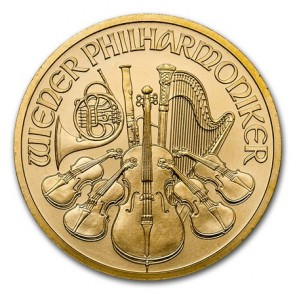 1/2 oz Gold Austrian Philharmonic Coin 2018