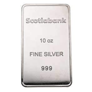 10 oz Silver Scotiabank Bar