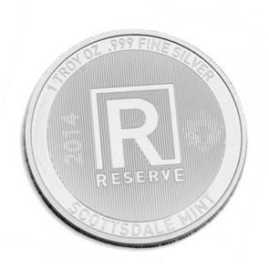 1 oz Silver Scottsdale Reserve Round