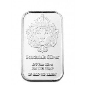 "1 oz Silver Scottsdale ""The One"" Bar"