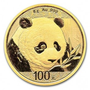8 gram Gold Chinese Panda Coin 2018