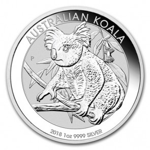 1 oz Silver Perth Mint Koala Coin 2018