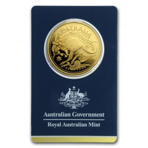 1 oz Gold Royal Australian Mint Kangaroo Coin in Assay 2018