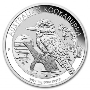 1 oz Silver Perth Mint Kookaburra Coin 2019
