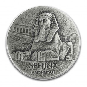 5 oz Silver Sphinx of Hatshepsut Coin