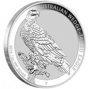 1 oz Silver Australian Wedge-Tailed Eagle Coin 2016