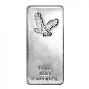1 Kilo Silver Eagle Bar