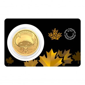 1 oz Gold RCM Klondike Panning Coin 2021