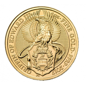 1 oz Gold Queen's Beast - The Griffin Coin 2017