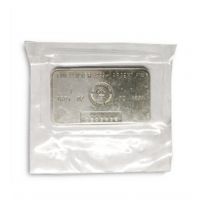 1 oz Silver Royal Canadian Mint Bar