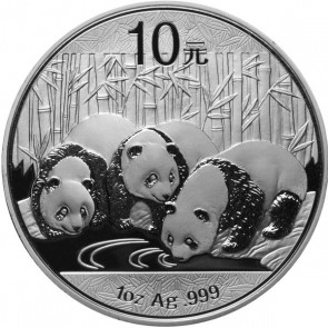 30 gram Silver Chinese Panda Coin 2013