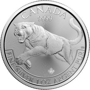 1 oz Silver Predator Series - Cougar Coin 2016