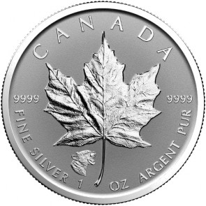 1 oz Silver Canadian Maple Leaf Cougar Privy Coin 2017
