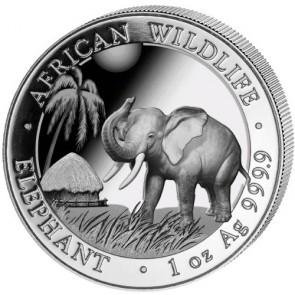 1 oz silver Somalian Elephant Coin 2017