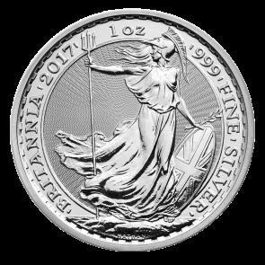 1 oz silver Britannia Coin 2017