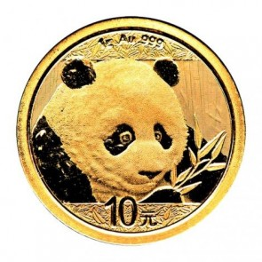 1 gram Gold Chinese Panda Coin 2018