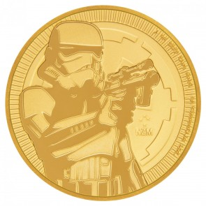 1 oz Gold Niue Star Wars Stormtrooper Coin 2018