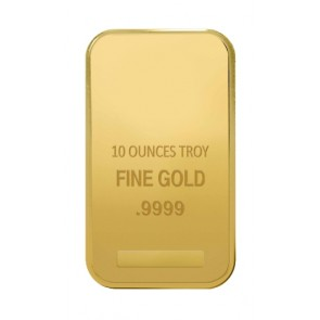10 oz Gold Various Bar