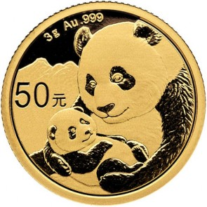 3 gram Gold Chinese Panda Coin 2019