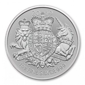 1 oz silver The Royal Arms Coin 2019