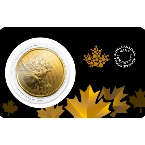 1 oz Gold RCM Call of the Wild Moose Coin 2019