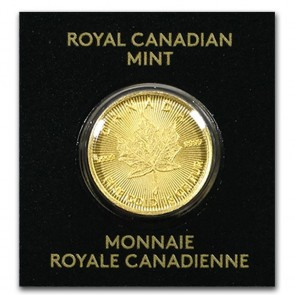 1 gram Gold Canadian Maple Leaf Coin 2020
