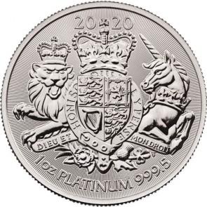 1 oz Platinum Royal Arms Coin 2020